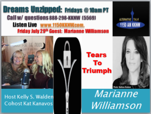 """Tears to Triumph"" with Marianne Williamson"